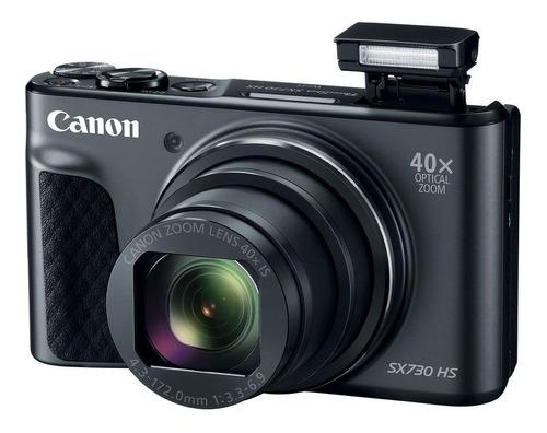 Imagem 1 de 4 de Canon PowerShot SX730 HS cor  preto