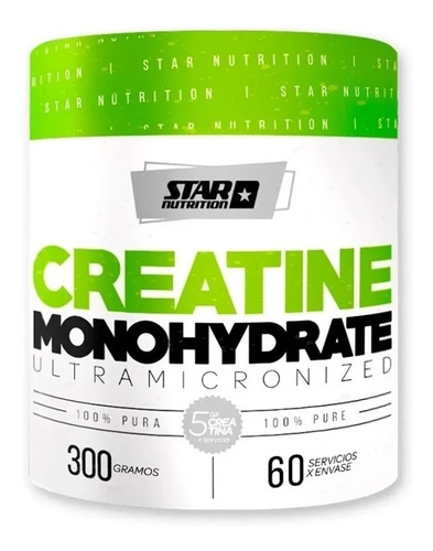 Creatina Star Nutrition 300grs. Zona Sur