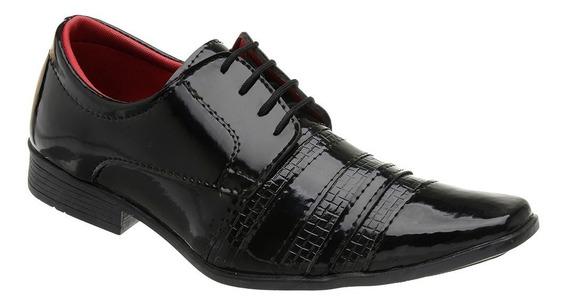 Sapato Masculino Social Verniz 1 - 5014