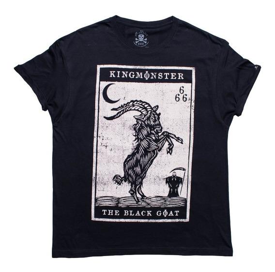 Playera King Monster! Black Goat! Envío Gratis!