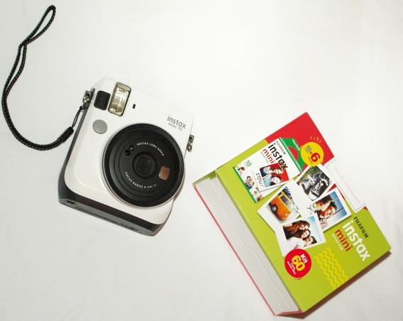 Câmera Instantânea Instax Mini 70, Fujifilm, Branco