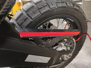 Cubre Cadena Fibra De Carbón Ducati Scrambler Ds (2018-2020)