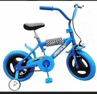 Bicicleta R 12 Niño Niña Full Freno Protecciones