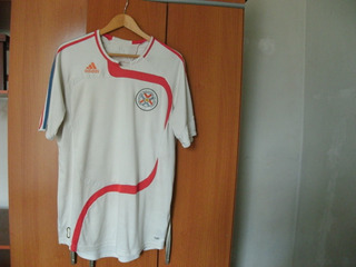 Camisa Da Seleção Paraguaia De Futebol - Ótimo Estado