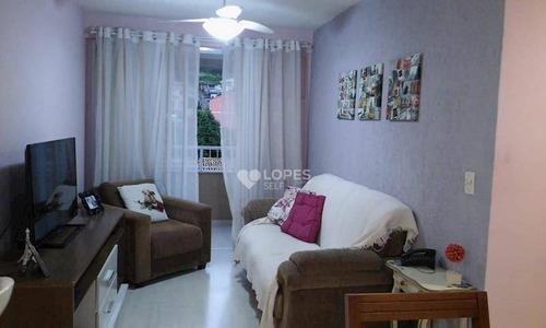 Apartamento Com 2 Dormitórios À Venda, 54 M² Por R$ 250.000,00 - Maria Paula - Niterói/rj - Ap38957