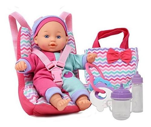 Muñecas Para Jugar De Bebe Con Asiento De Coche Elevador