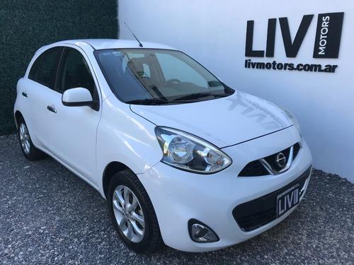 Nissan March Advance Pure Drive Año 2015 - Liv Motors