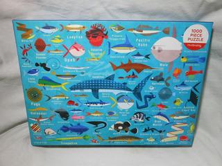 Rompecabezas Ocean Life 1000 Piezas