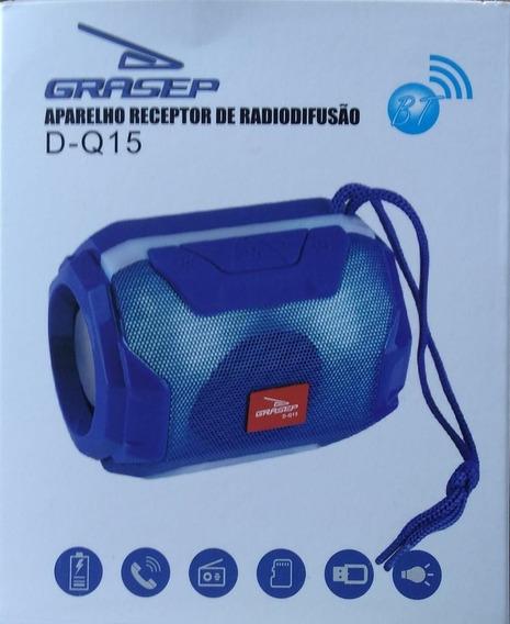 Kit 03 Caixa De Som Bluetooth Portátil D-q15