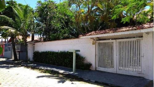 Imagem 1 de 14 de Casa Lado Praia Com Edícula No Jd Luizamar-itanhaém 4014 Npc