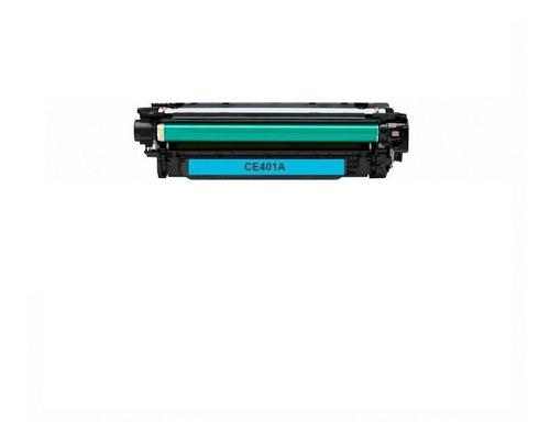 Cartucho De Toner Hp 507a Cian Laserjet Original Ce401a
