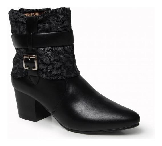 Bota Feminina Mooncity Cano Baixo 77901 - Maico Shoes