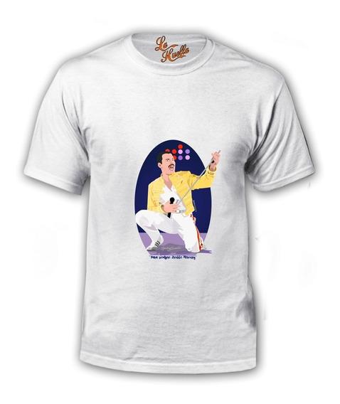 Polera Queen - Freddie Mercury Caricatura Show / Lho
