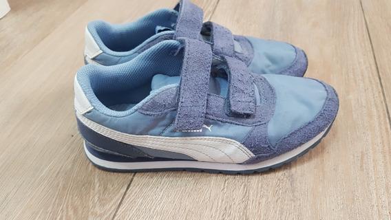 Zapatillas Puma Niños 21 Cm Originales