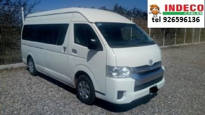 Toyota Hiace Pasajeros Techo Alto 2016 Tel 926596136
