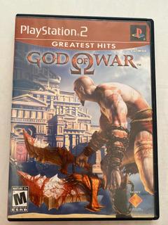 God Of War Playstation 2 Ps2