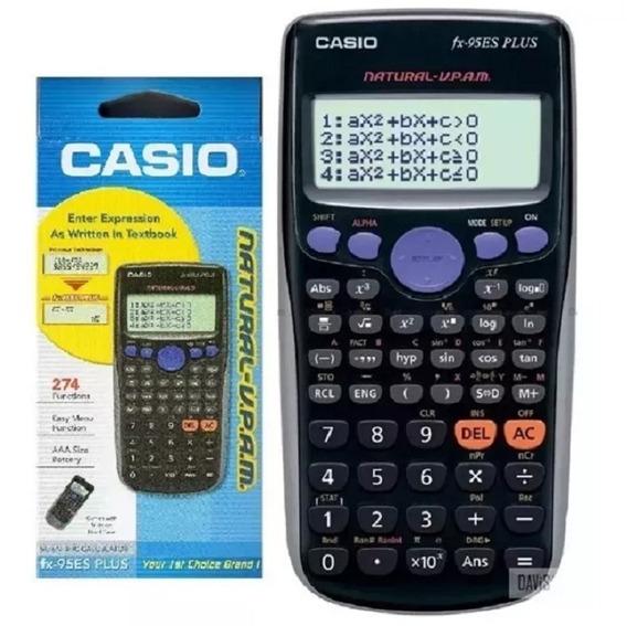 Calculadora Cientifica Casio Fx-95es Plus 274 Funciones