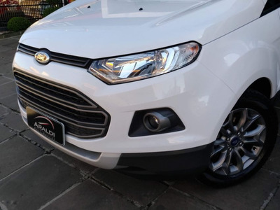 Ford Ecosport 1.6 Freestyle 2014 Branco Flex