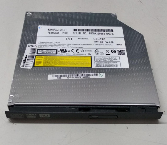Leitor Dvd-sata Notebook Acer Aspire