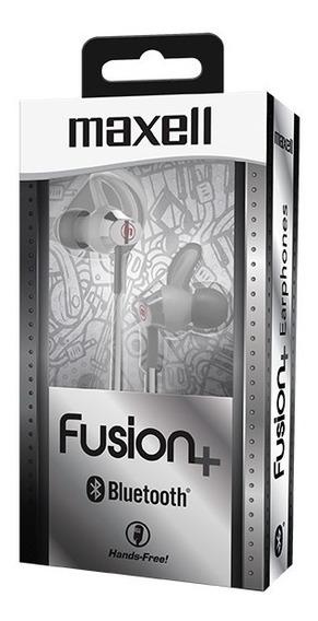 Maxell Audifo Fusion+ Eb-btfus9 Bluetooth Silver