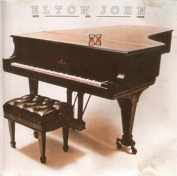 Cd Elton John - Here And There - Semi Novo***