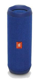 Caixa De Som Bluetooth Jbl Flip 4 Azul À Prova D