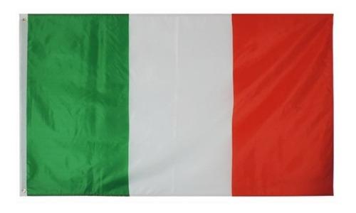 Imagen 1 de 2 de Bandera De Italia 150 Cm X 90 Cm