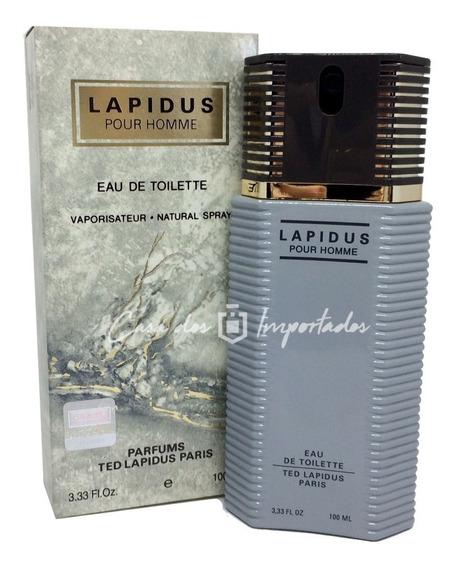 Lapidus Pour Homme 100ml Masculino | Original + Amostra