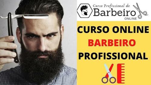 Curso De Barbeiro Oline!!