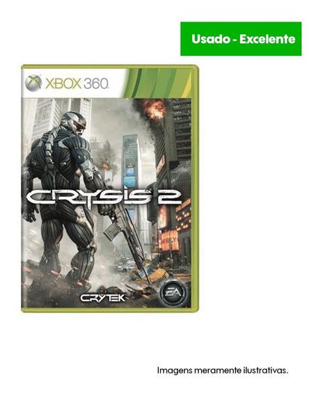 Game Xbox 360 Crysis 2 Usado Excelente