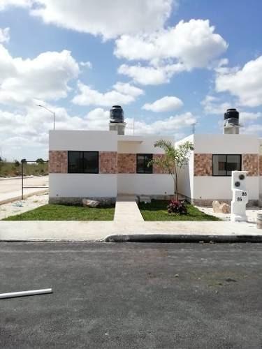 Hermosas Casas De Una Planta En Venta En Privada Santa Rita Kanasín, Yucatán