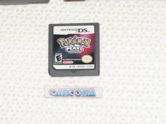 Cartucho Original Pokemon Pearl Nintendo Ds 3ds
