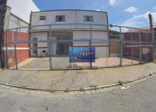 Imagem 1 de 22 de Galpão À Venda, 480 M² Por R$ 1.500.000,00 - Chácara Califórnia - São Paulo/sp - Ga0072