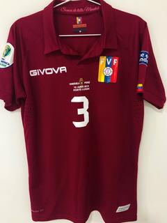 Camisa Venezuela Usada Jogo Copa América 2019 Osorio #3