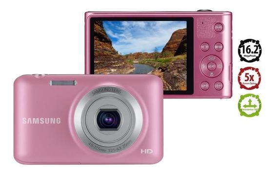 Câmera Digital Samsung Es95 Rosa 16.1mp