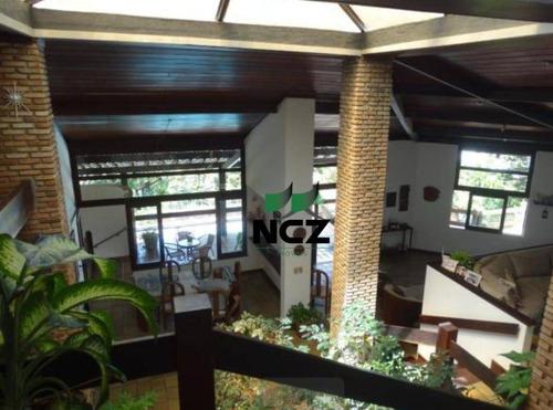 Casa Com 6 Dormitórios(3 Suítes) Piscina E Ampla Área Verde À Venda, 450 M² Por R$ 1.890.000 - Piatã - Salvador/ba - Ca0429