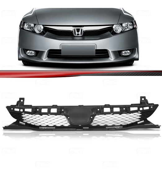 Grade Dianteira New Civic 2009 2010 2011 - 09 10 11