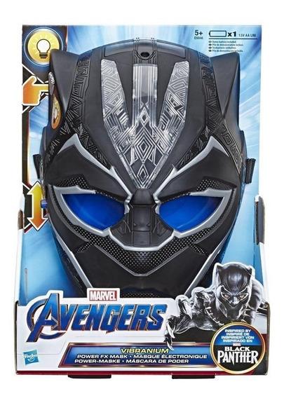 Marvel E6046 Máscara Electrónica Sfx Black Panther Juguete H