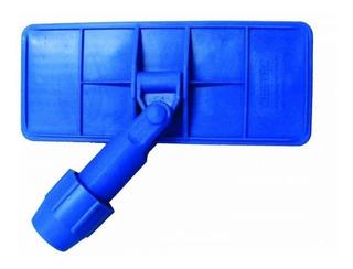 Suporte Para Bucha De Fibra Com Pinça Azul