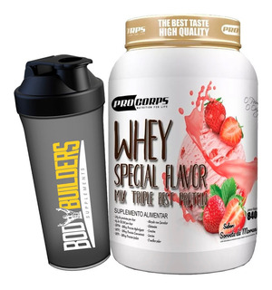 Whey Special Flavor 900gr + Brinde - Pro Corps
