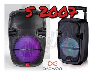 Parlante Daewoo S2007 Bluetooth