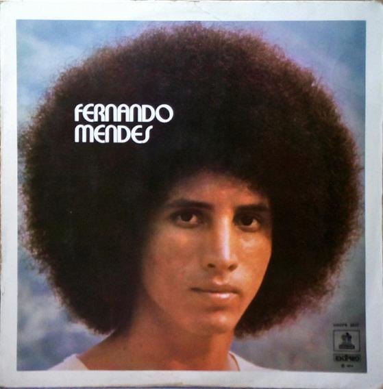 Fernando Mendes Lp Ontem, Hoje Amanhã Odeon 1974