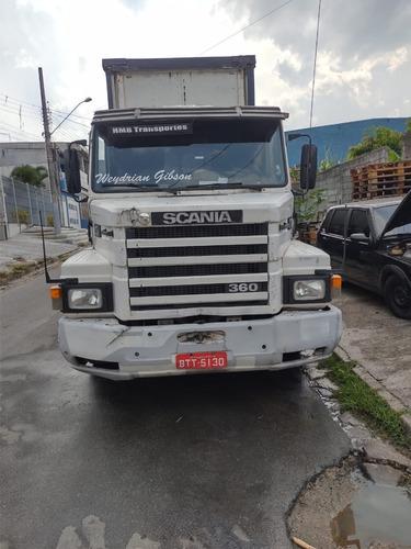 Scania 113h E Carreta Sayder Conjunto Completo