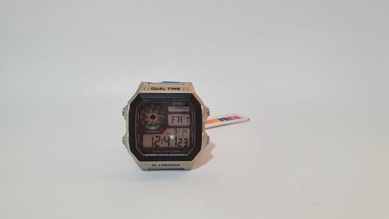 Reloj Digital Caballero Deportivo Skmei Acero Inoxidable