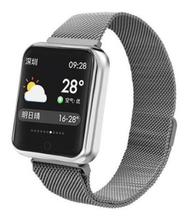 Smart Watch Relógio Inteligente P70 Sports Compatível iPhone Samsumg Lg Motorola Xiaomi Pronta Entrega 2 Pulseiras