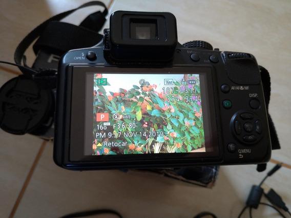 Câmera Panasonic Lumix Dmc Fz60 - Completa