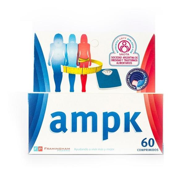 Ampk 60 Comprimidos Oferta! Adelgazar Activando Metabolismo