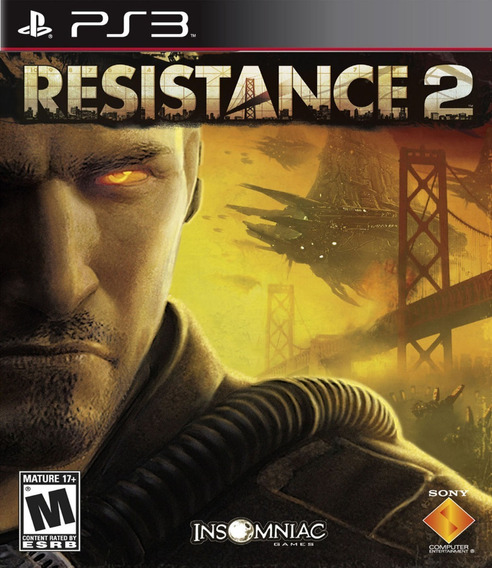 Resistance 2 - Jogos Ps3 Playstation 3