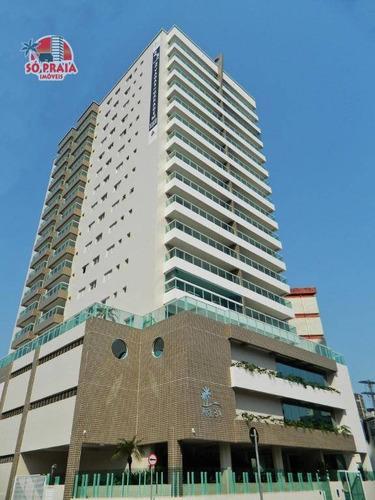 Imagem 1 de 30 de Apartamento Com 3 Dormitórios À Venda, 108 M² Por R$ 540.000,00 - Caiçara - Praia Grande/sp - Ap2545