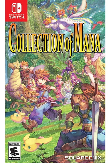 Collection Of Mana Switch Mídia Física Novo Lacrado Original